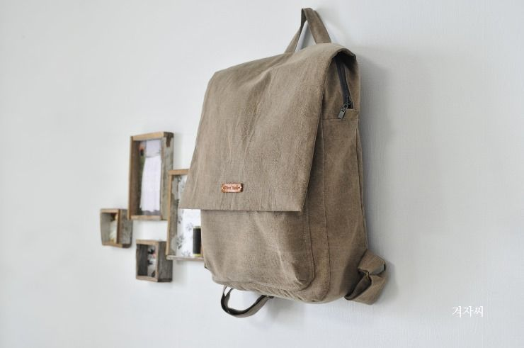Wanna make this pretty backpack? Here is tutorial!