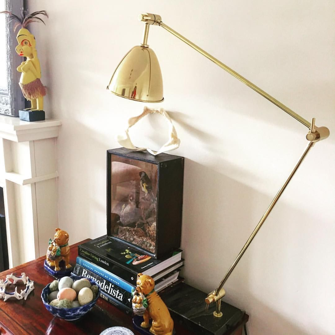 More interior excitement..my new brass and marble anglepoise lamp from @coxandcox ❤️#homewares #lighting #lamp #anglepoiselamp #brass #interiordesign #homes #coxandcox #england #uk #cotswoldtales