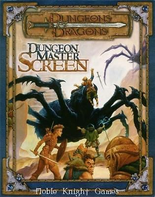 Dungeon Masters Guides 158710: Wotc Dandd 3Rd Ed Dungeon Master S Screen 3.0 Zip Sw -> BUY IT NOW ONLY: $49.95 on eBay!