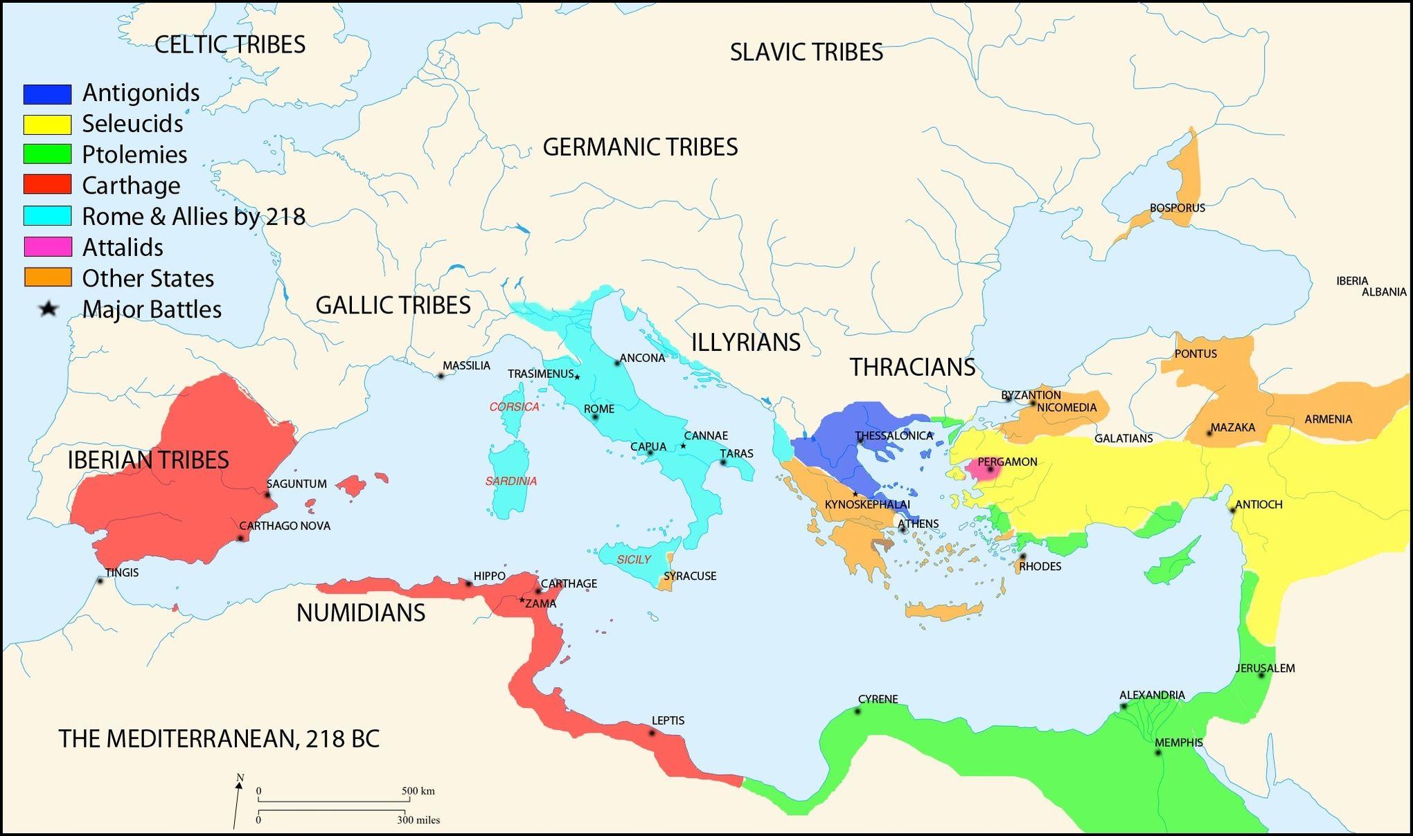 Maps That Explain The Roman Empire Punic Wars Emperor - Ancient rome map outline