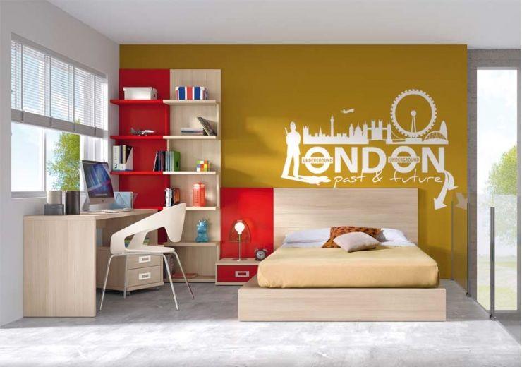 Cama funcional juvenil buscar con google dormitorio for Cama funcional