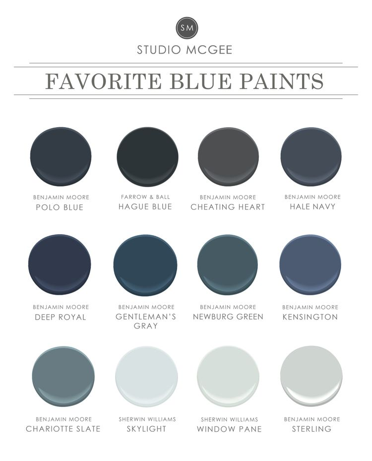Ask Studio Mcgee Our Favorite Blue Paint