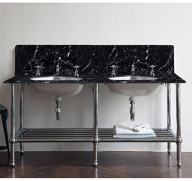 Find This Pin And More On Metal Washstand Marble Top Inspiration