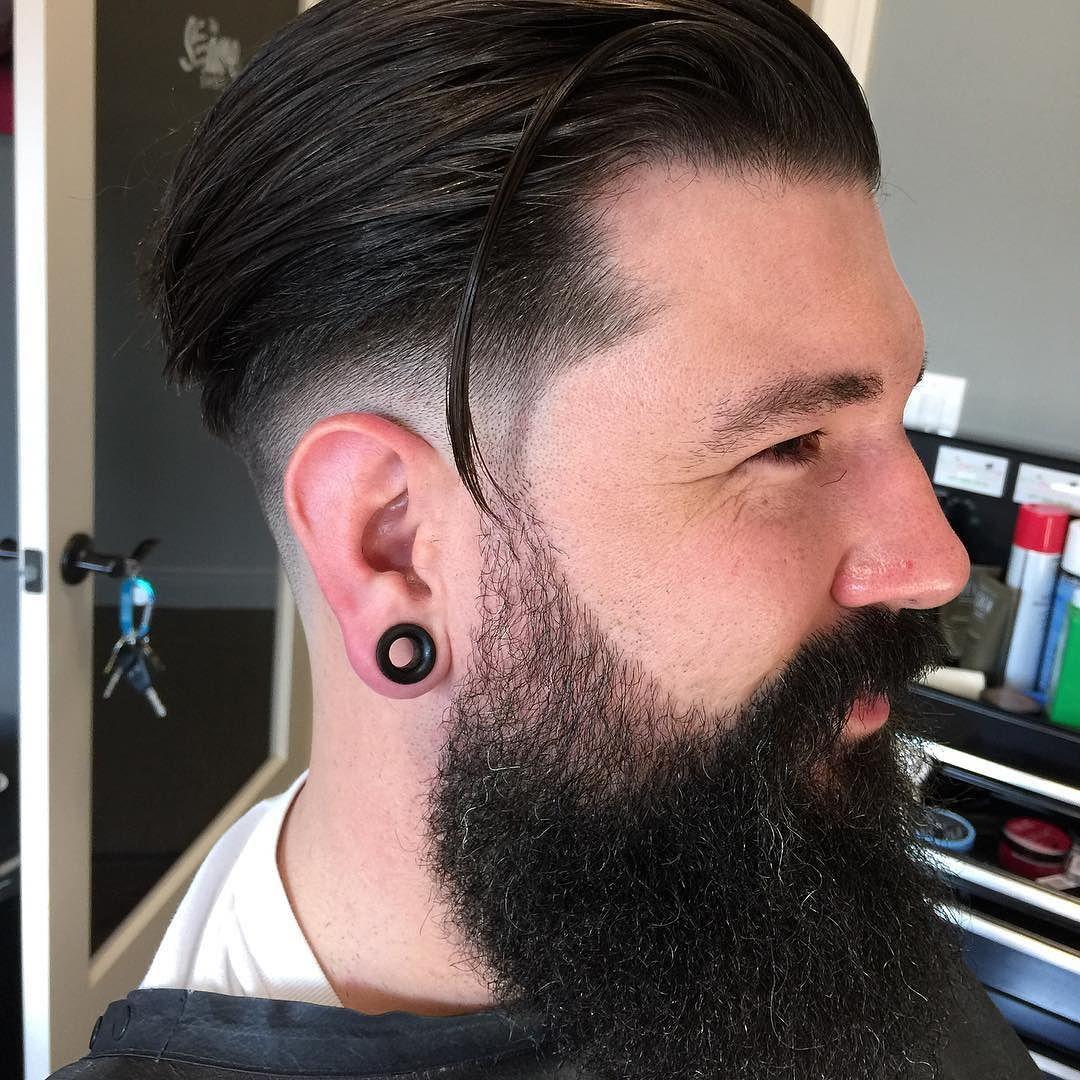 Different types of fade haircuts for men chazthebarber beard bearded beards beardlife giyswith wards