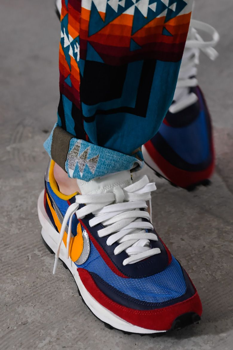 lower price with bbfa0 626aa Sacai Reveals Nike Collaborations At Paris Fashion Week SS19 Show
