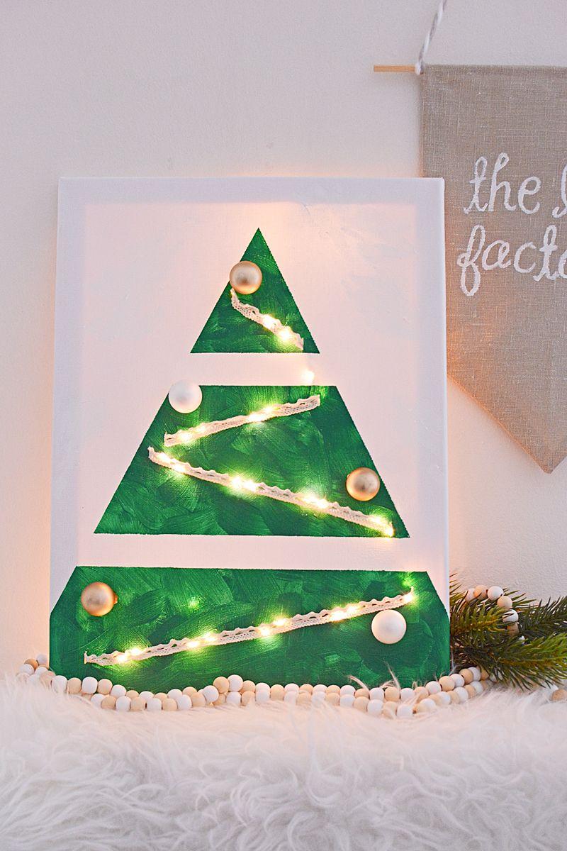 Deze Kerstboom Gaat Eeuwig Mee En Is Supermooi Kerstboom Kerst Creatief