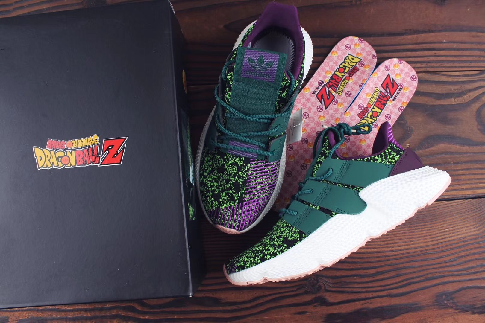 df8e070f8e1 Dragon Ball Z x adidas Prophere Cell Detail Info