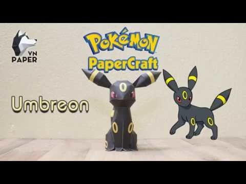 Pokemon Papercraft Tutorial