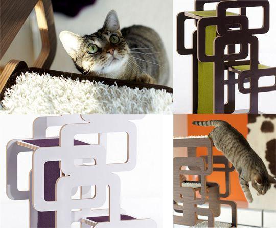 Decorative And Delightfully Brilliant Cat Furniture. Love