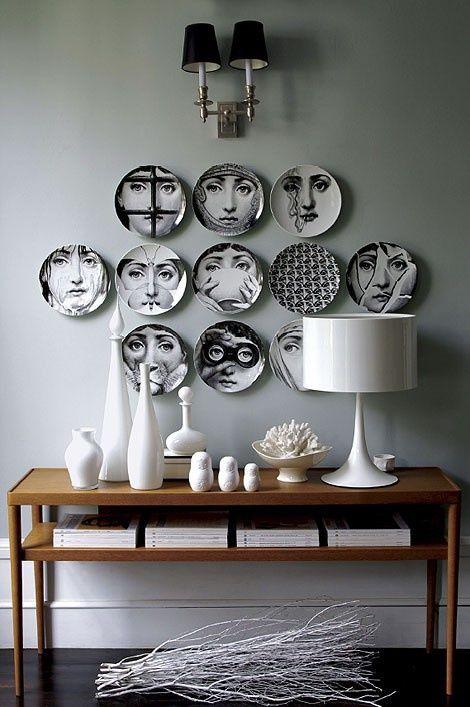 Decoratie Borden Voor Aan De Muur.Creatief Met Borden Aan De Muur Decoratieve Muren