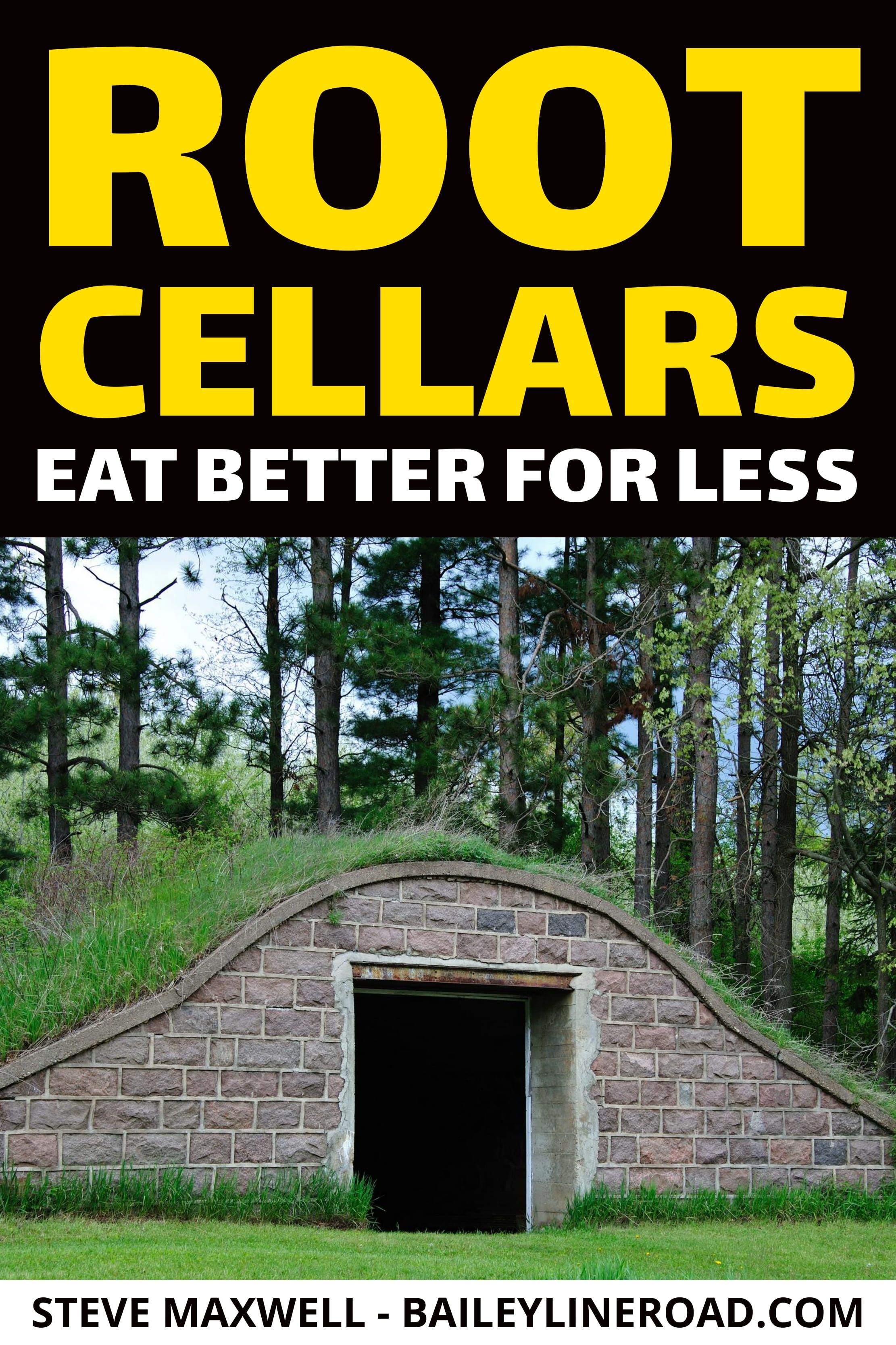 ROOT CELLARS Eat Better for Less Concrete front steps