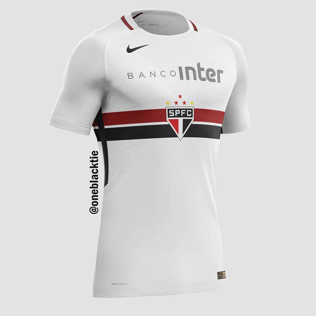 Designer cria camisas de clubes brasileiros inspiradas na Nike - Parte 02 -  Show de Camisas f083de1f6cb5b