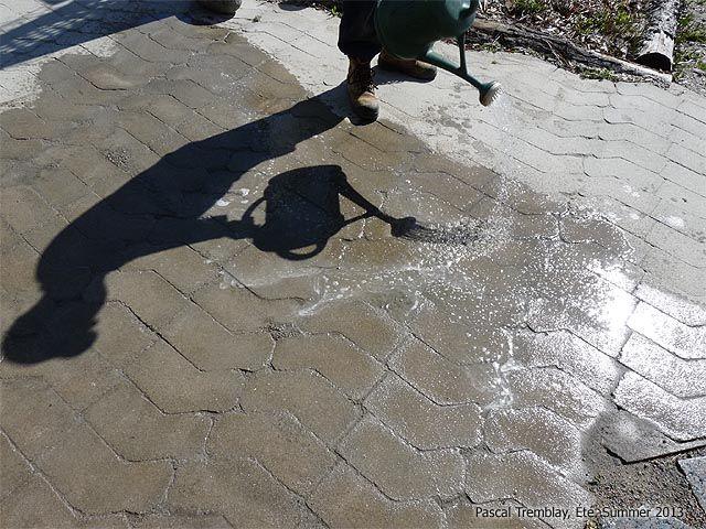 Construire un pavé - Pose du Sable Polymère - Joints de pavé Déco - pose de pave exterieur