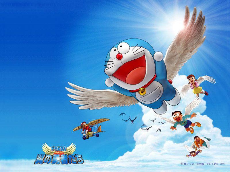 Doraemon. The art of flight? :)