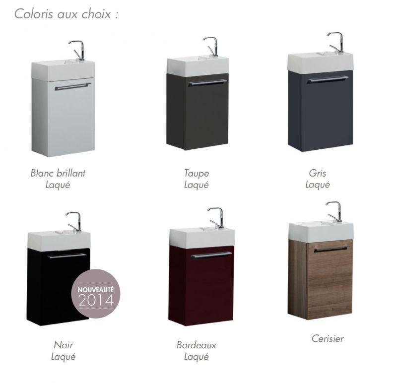 Meubles, lave-mains, robinetteries Lave-Mains - Lave Main 40 cm ...