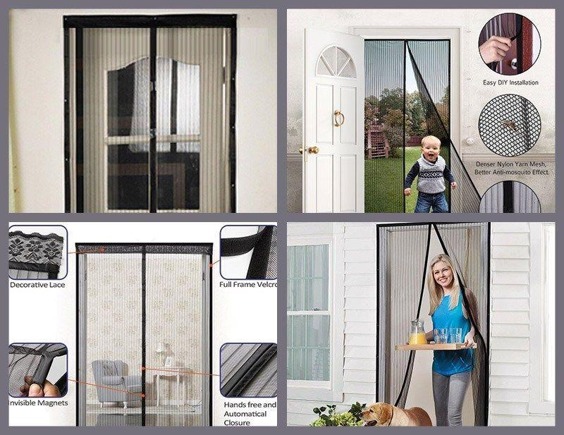 The Best Magnetic Screen Door Is Just Like A Door Curtain This