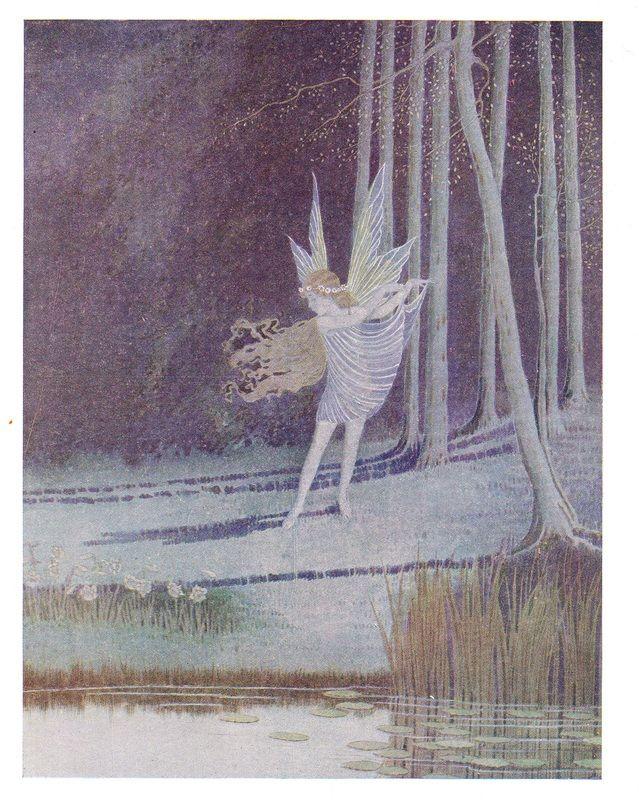 "Serana: The Bush Fairy. ""On moonlight nights they danced"" - Fairyland (1926)"