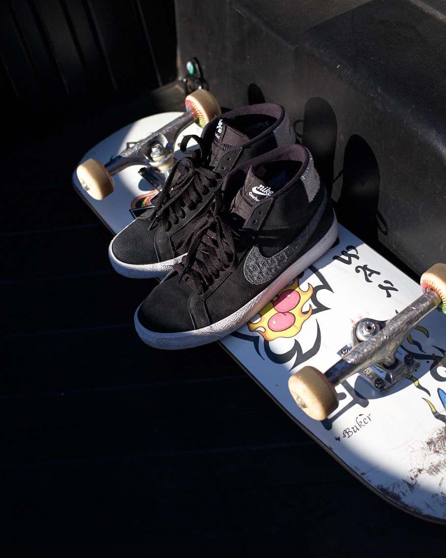 Nike SB Zoom Janoski RM Schuh (black white) | Schuhe, Füße