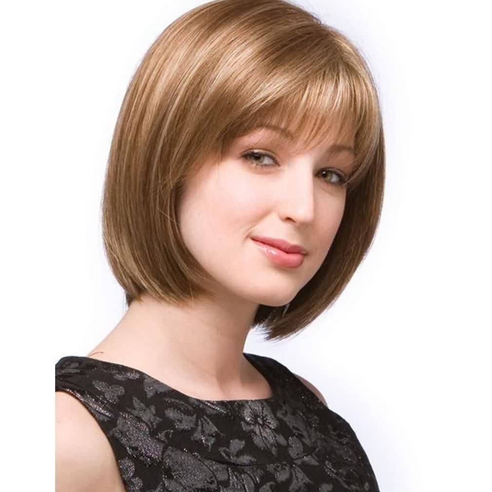 Hairstyles For Square Faces Over 40: Jennifer Straight Hair Multicolor Set Of Stars With The