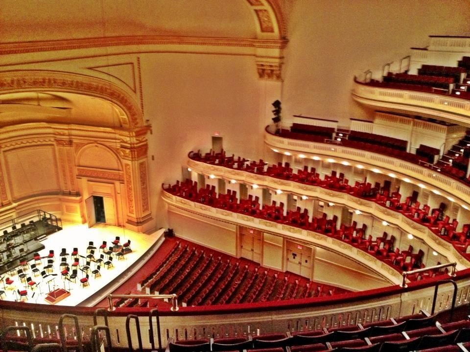 Carnegie Hall One Of The Most Famous And Fancy Venues In