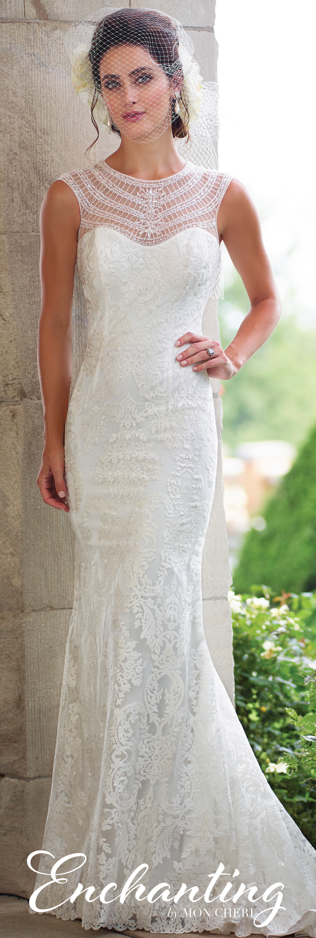 Modern wedding dresses by mon cheri trumpets wedding dress