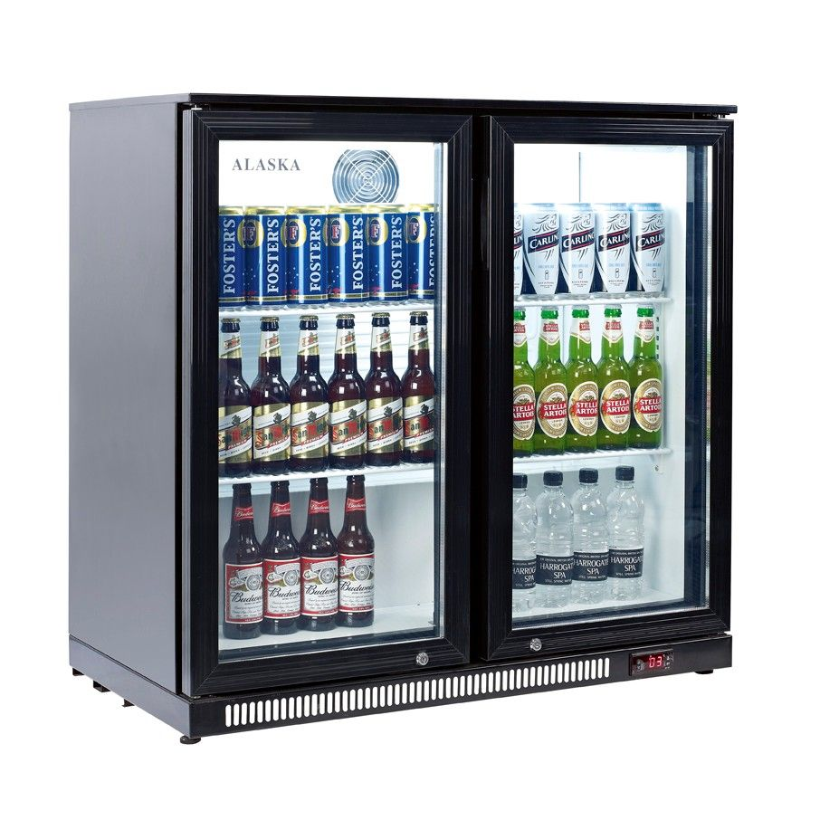 Artikcold Bbc 92s Alaska 2 Sliding Door Back Bar Cooler Glass Door Refrigerator Back Bar Sliding Doors