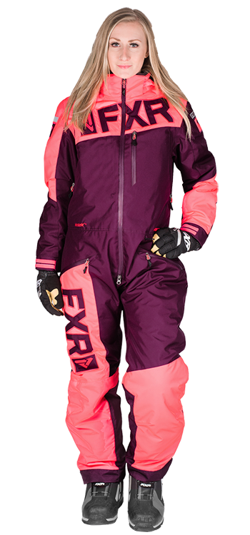 FXR Women s SQUADRON MONOSUIT at Up North Sports Snowmobile Suits Purple Snow  Suit One Piece Suit 37767cfea