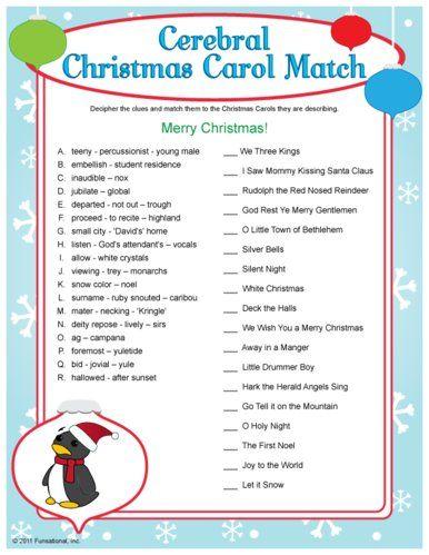 photo regarding Christmas Carol Game Printable known as Xmas Carol Recreation Holiday seasons Xmas bash online games