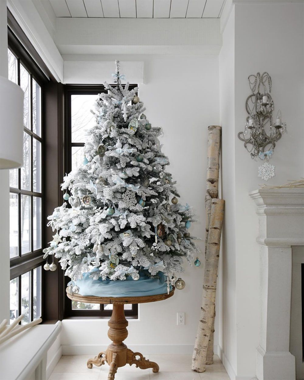 Day 11 A 1000 Shopping Spree To The Cross White Christmas Trees White Christmas Tree Decorations Small White Christmas Tree