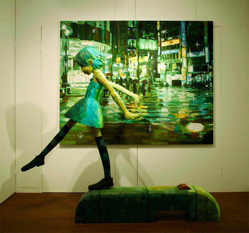 A ARTE TRIDIMENSIONAL DE SHINTARO OHATA