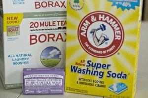 homemade laudry detergent using lavendar soap