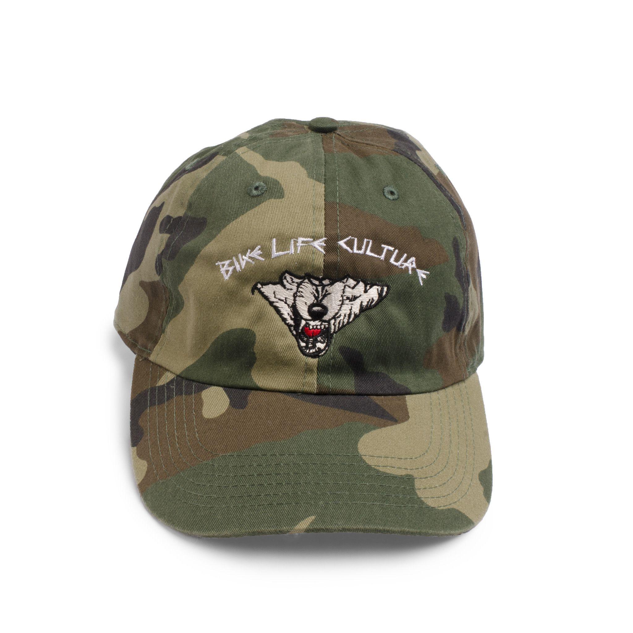 BIKE LIFE CULTURE DAD CAP- ARMY FATIGUE  2ee0fb31a63b