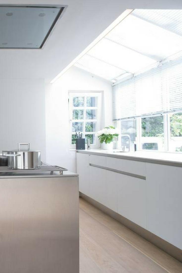 Küche in Weiß: matt oder glänzend? Was ist besser | Küchen fronten ...