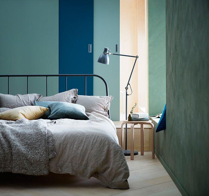 Kopardal Bed Frame Grey L 246 Nset Queen Ikea Bed Furniture Bed Frame