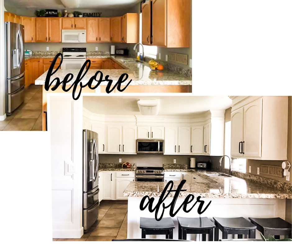 How To Paint Your Cabinets Like A Pro Kitchen Remodel Small New Kitchen Cabinets Painting Cabinets Diy