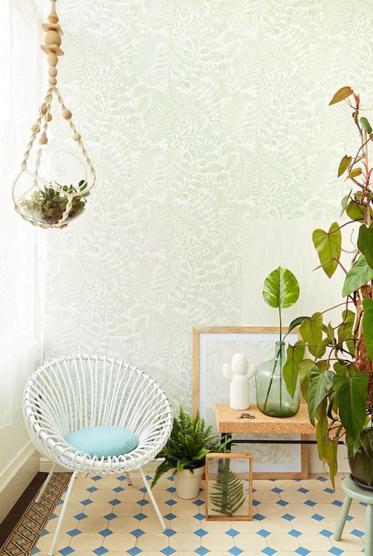 Eijffinger geonature groen behang   woonkamer   Pinterest ...