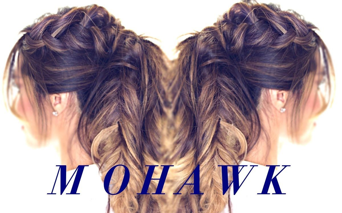 Mohawk braid ponytail cute hairstyle for fall womenus world