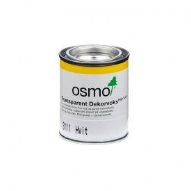 OSMO DEKORVOKS TRANSP 3111 HVIT 0,125 LITER