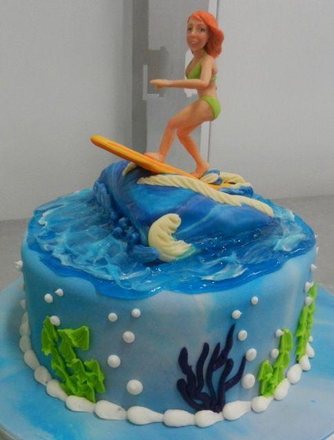 Surfer Girl Cakes Cakes Cakes Cake Surf Cake