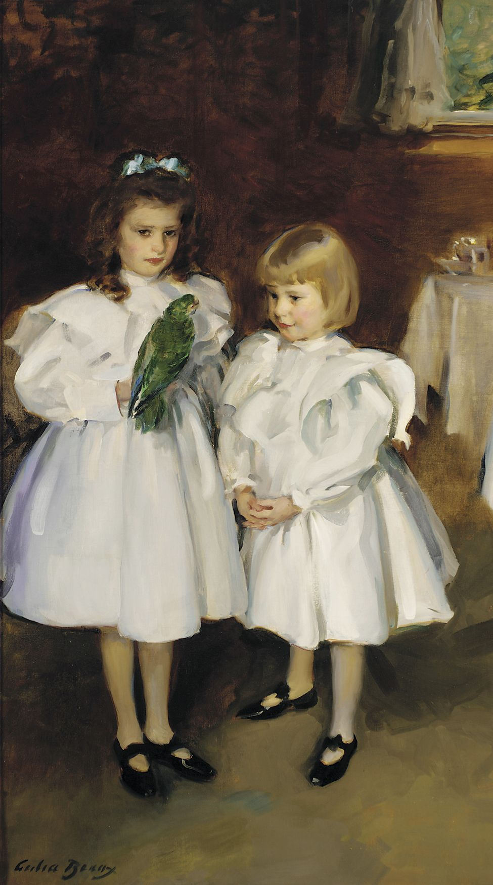Gertrude and Elizabeth Henry, 1898-1899, Cecilia Beaux. American (1855 - 1942)