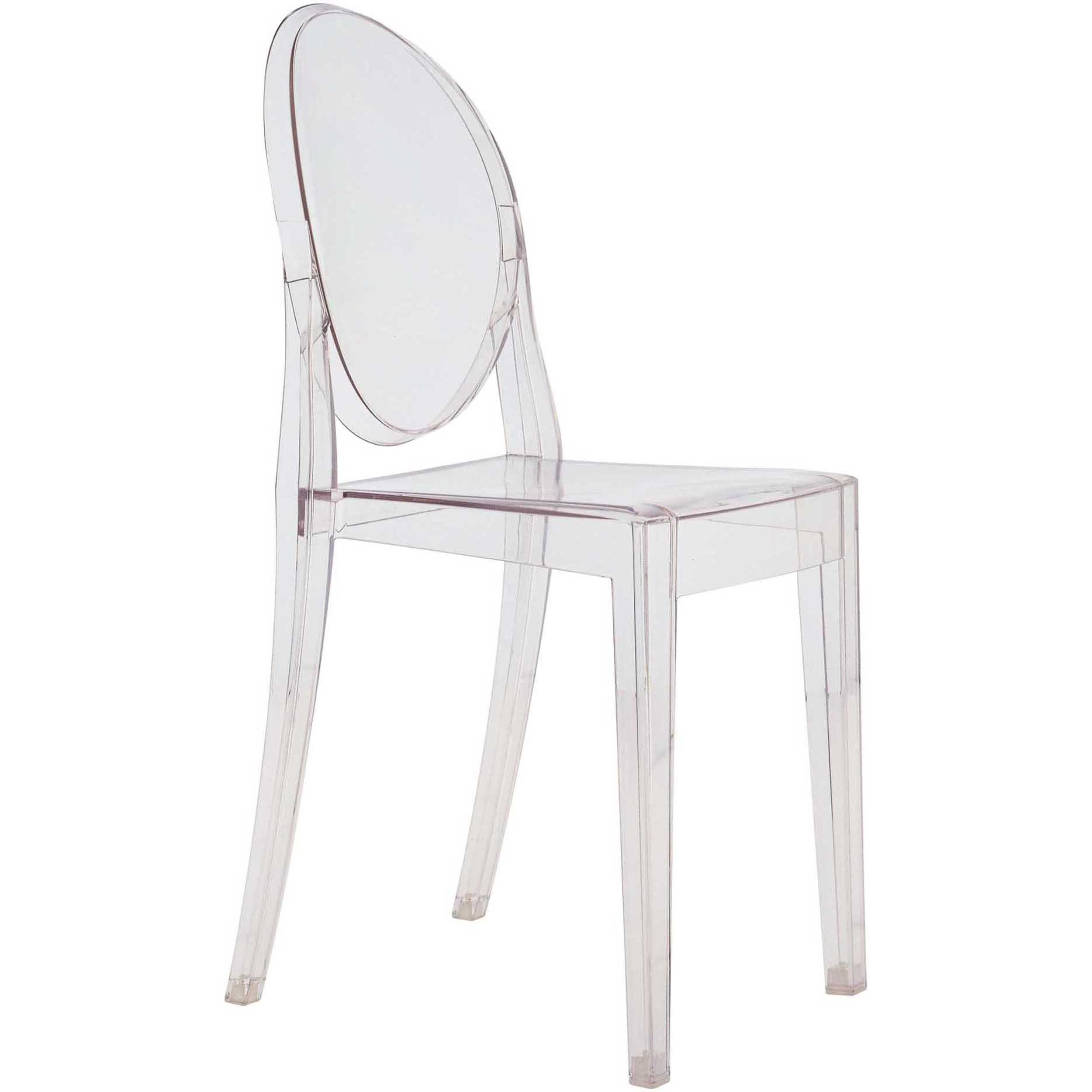 Anime Side Chair Transparent Set Of 4 Acrylic Chair Ghost