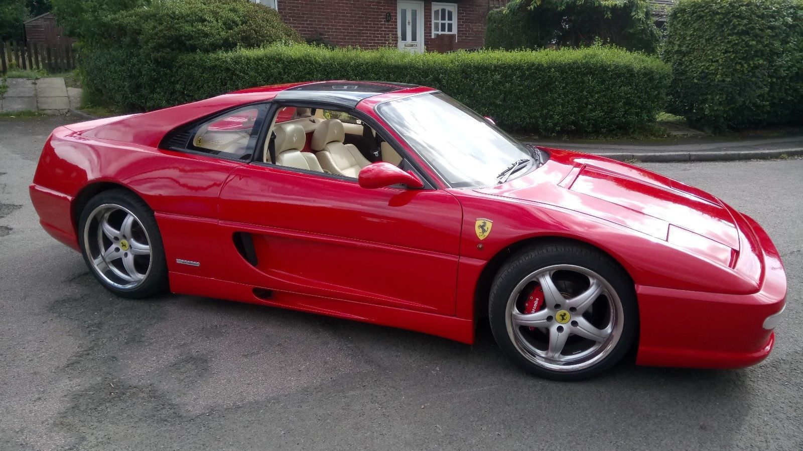 Looking For A Ferrari F355gts Replica Toyota Mr2 Turbo Rev2 Built By Bad Design Not A Kit This One Is On Ebay Voitures Et Motos Voiture Motos