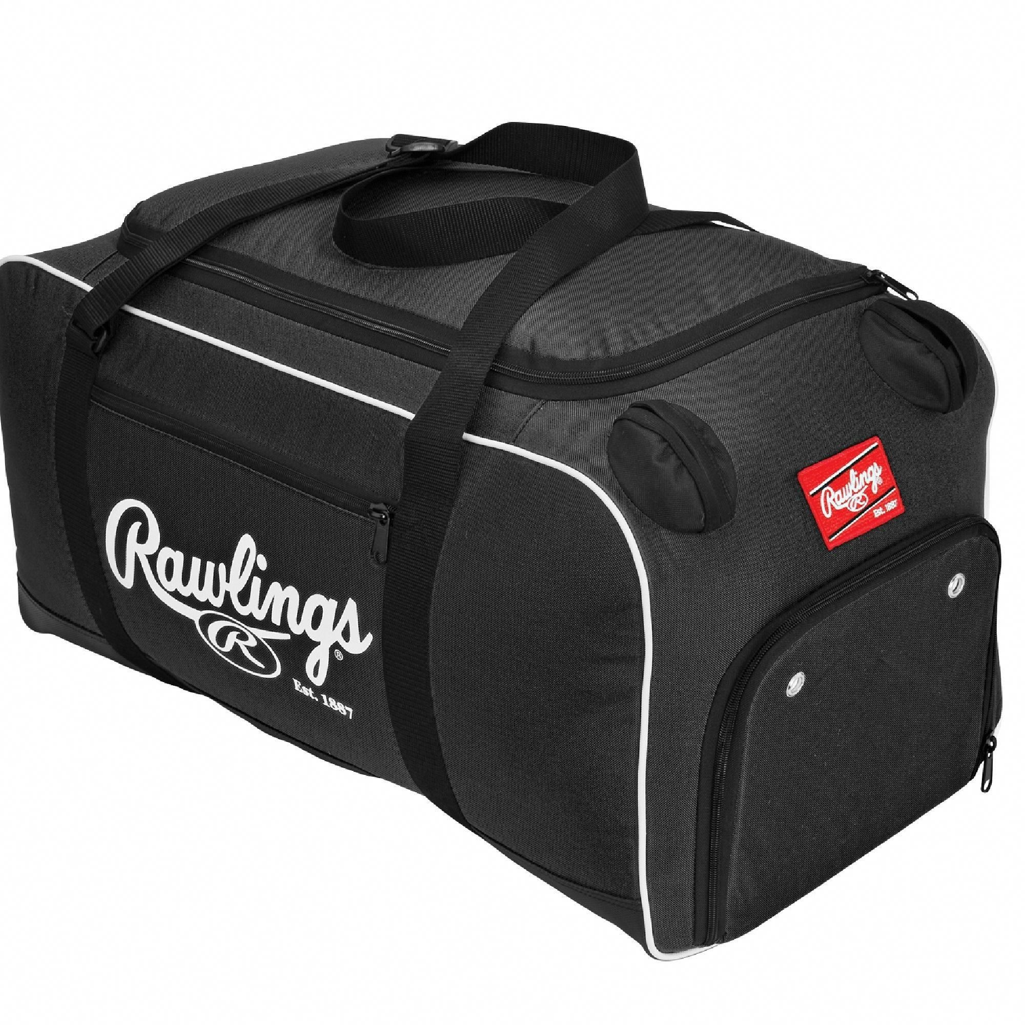 630d4a23c2 Rawlings Covert Baseball or Softball Bat Duffel Bag-Black  baseballbags