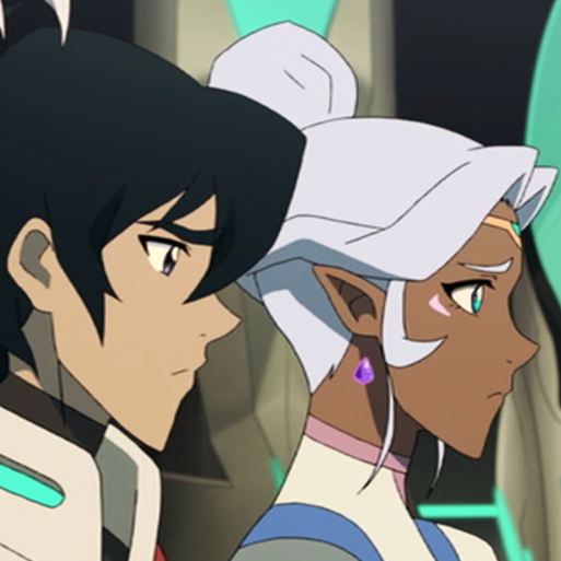 A whole week of celebration for Keith and Allura's relationship, platonic and/or romantic. Please...