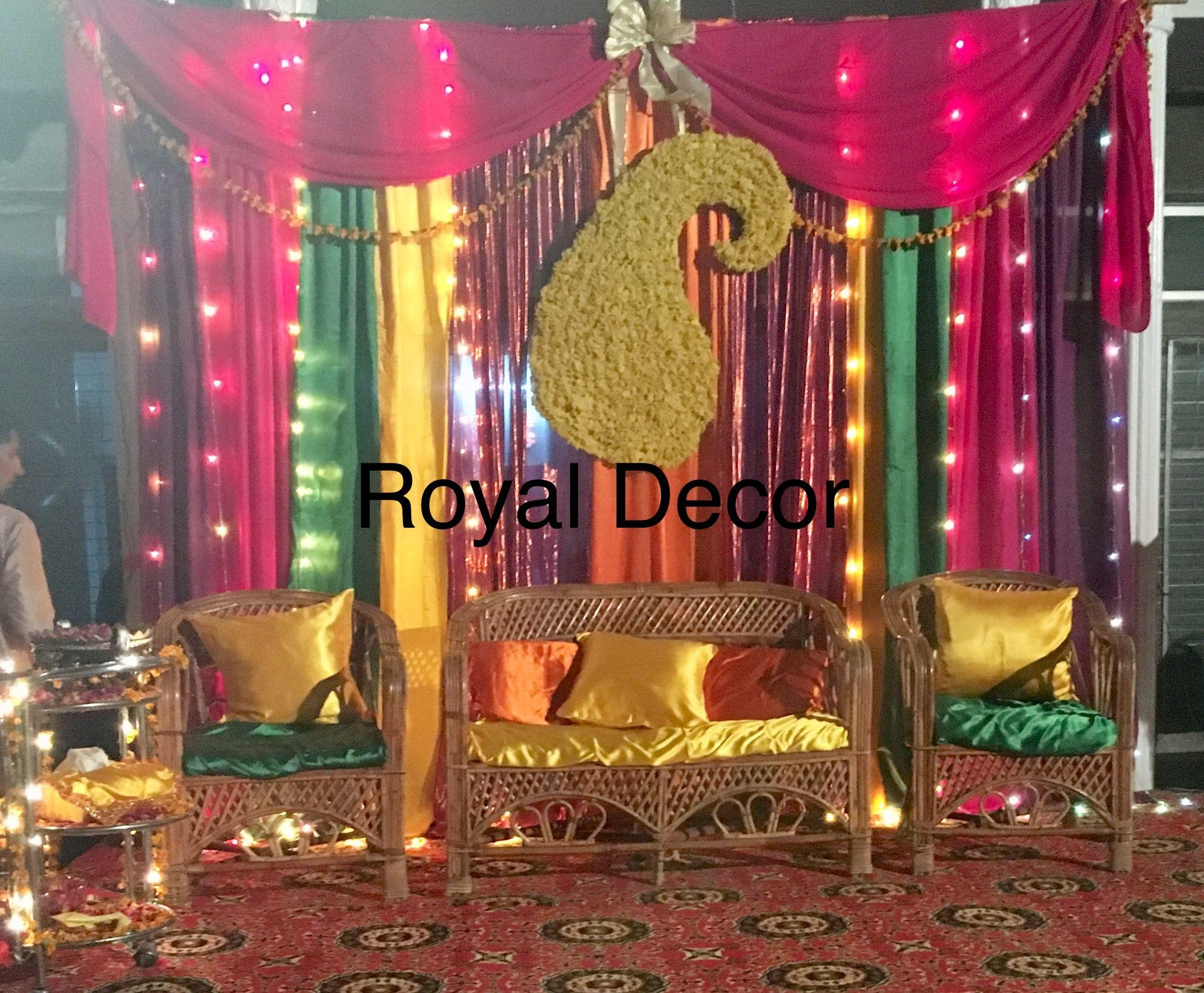 Mehndi Backdrop Diy : Diy mehndi decor on a budget an out door event decors