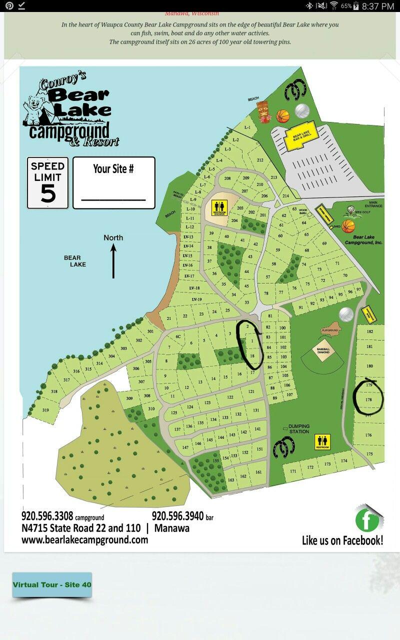 Bear Lake Manawa Bear Lake Lake Campground
