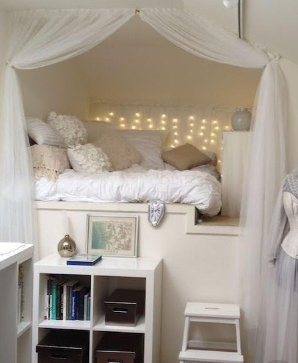 Nest for tween girl bedroom | Cozy small bedrooms, Small ...