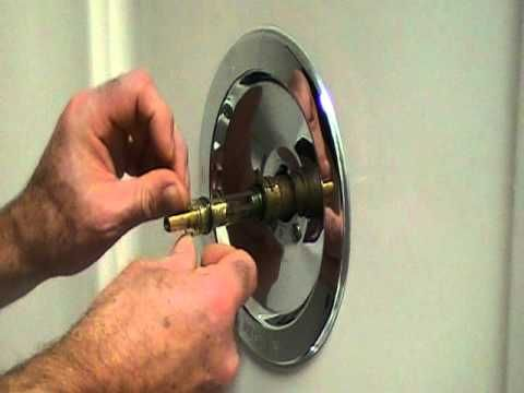 Fix A Leaky Shower Faucet With Images Shower Faucet Replace