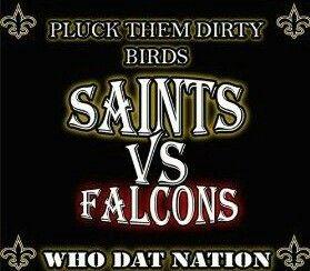 Saints Vs Falcons Beat The Falcons Saints Vs New Orleans Saints Football Nfl Saints