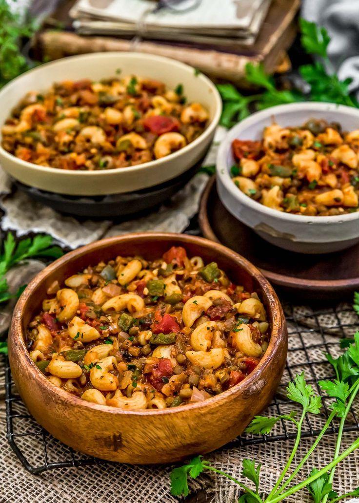 Vegan Italian American Goulash Recipe Vegan Meal Plans